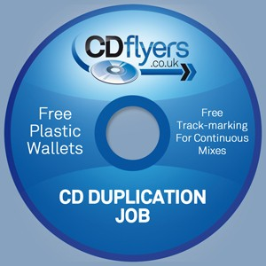 CD Duplication (500 Units)